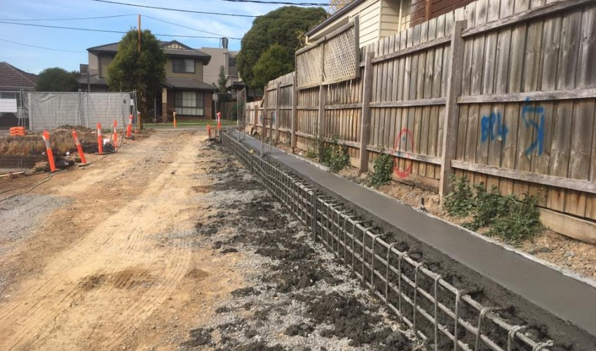 Capping Beam  Construction