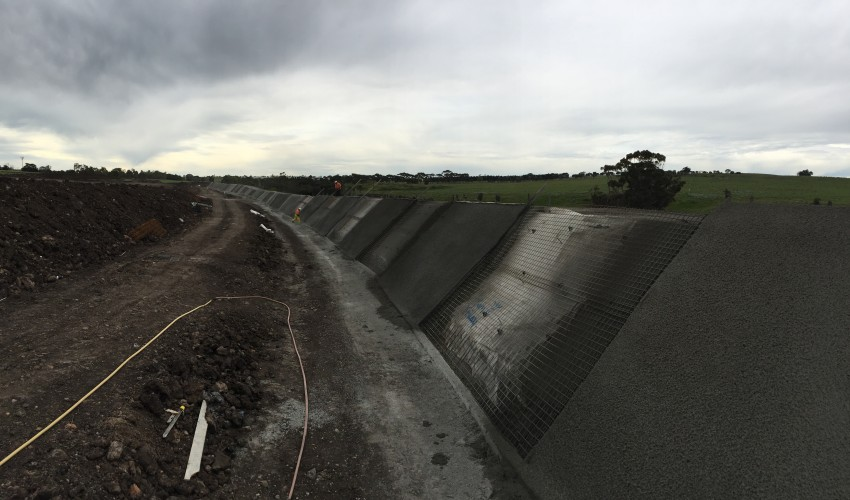 Flood Levee Construction